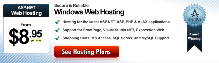 Shared Windows Web Hosting